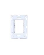 Suporte 4x2 Horizontal N1373.9 BL Branco, Linha Unno, ABB