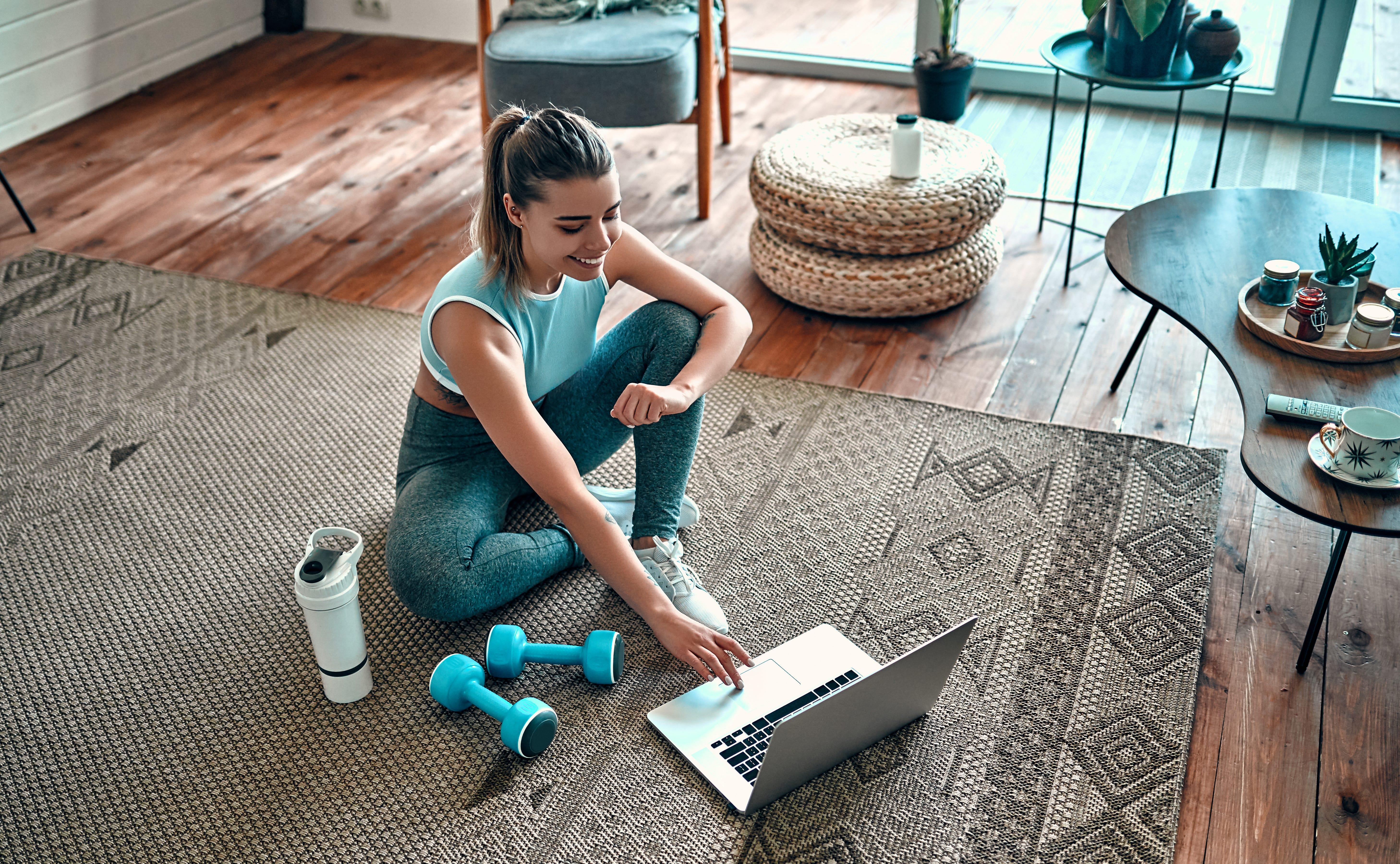 Como adaptar um espaço da sua casa para praticar exercícios