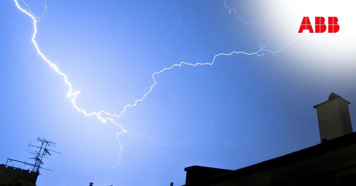 Protegendo sua casa de raios e tempestades